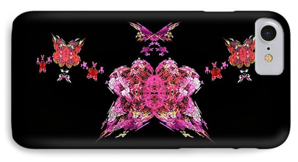 Pink Butterflies Phone Case by Bruce Nutting