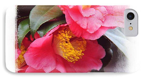 Pink Camellia. Elegant Knickknacks Phone Case by Jenny Rainbow