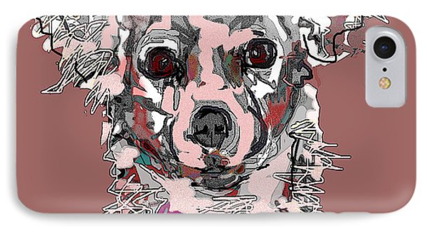 Pink Chihuahua IPhone Case
