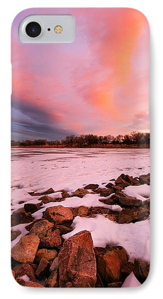 Pink Clouds Over Memorial Park IPhone Case