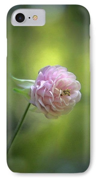 Pink Columbine Phone Case by  Andrea Lazar