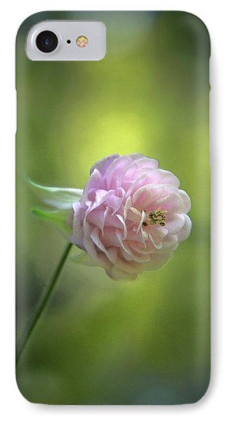 Pink Columbine IPhone Case by  Andrea Lazar