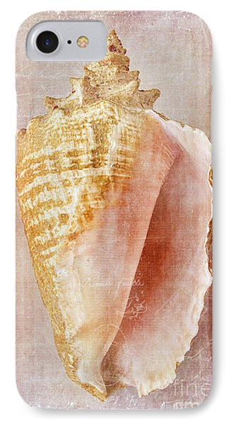 Pink Conch IPhone Case