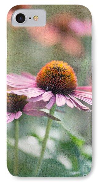 Pink Cone IPhone Case by Rebecca Cozart