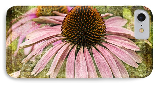 IPhone Case featuring the photograph Pink Coneflower by Vicki DeVico