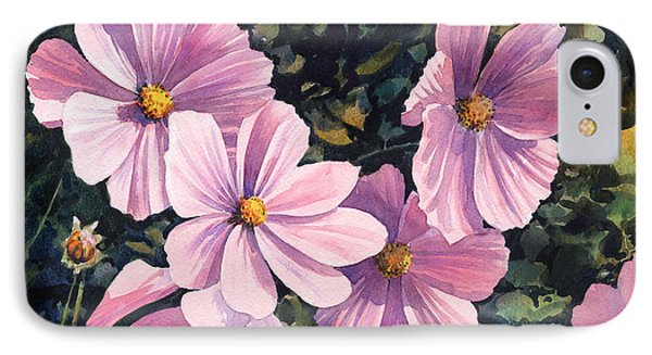 Pink Cosmos Phone Case by Anthony Forster