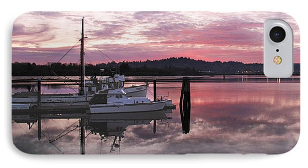 IPhone Case featuring the photograph Pink Dawn by Suzy Piatt