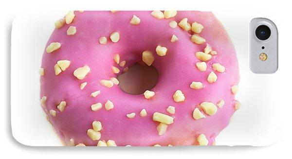 Pink Doughnut IPhone Case