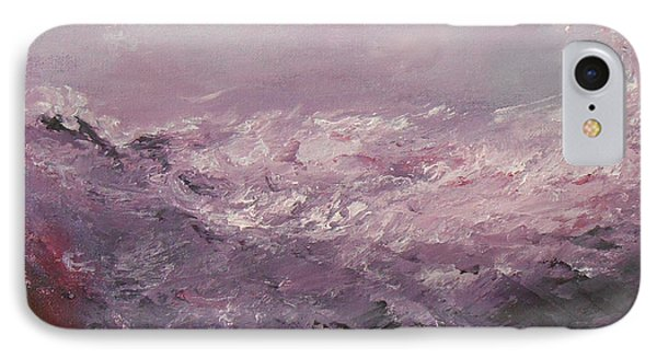 Pink Emotions IPhone Case by Jane  See