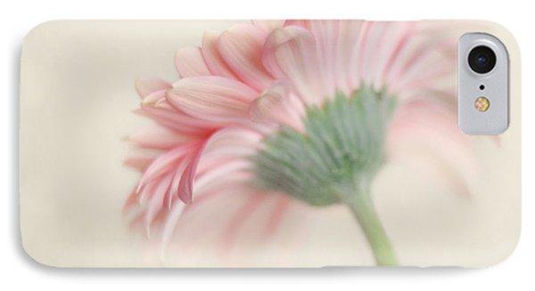 Pink Flower Photography - Pink Nursery Wall Art - Baby Girl Nursery Art - Pale Pink Mint Green Decor Phone Case by Amy Tyler