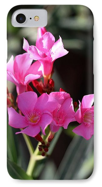 IPhone Case featuring the photograph Pink Flower  by Ramabhadran Thirupattur