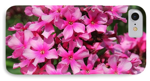 IPhone Case featuring the photograph Pink Flowers by Bill Woodstock