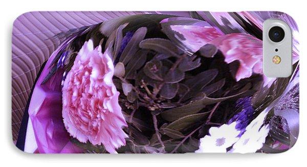 Pink Flowers Phone Case by Gabriele Mueller
