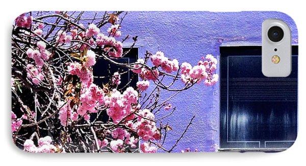 Pink Flowers IPhone Case by Julie Gebhardt