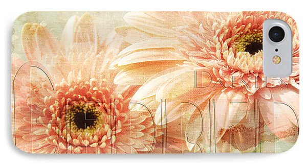 Pink Gerber Daisies 2 IPhone Case by Andee Design