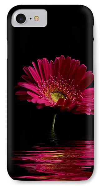 Pink Gerbera Flood 1 Phone Case by Steve Purnell