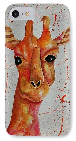 Pink Giraffe  IPhone Case