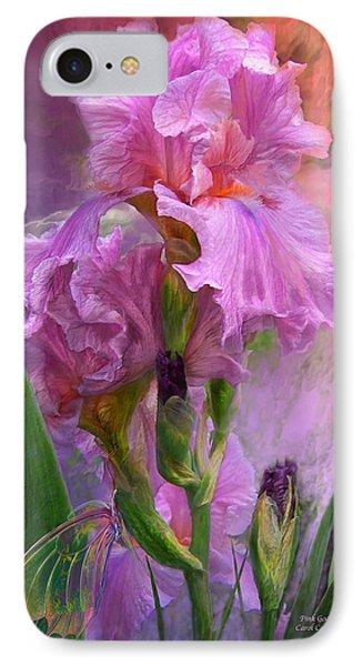 Pink Goddess Phone Case by Carol Cavalaris