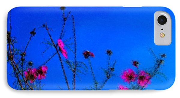 Pink Green And Blue Phone Case by Tina M Wenger