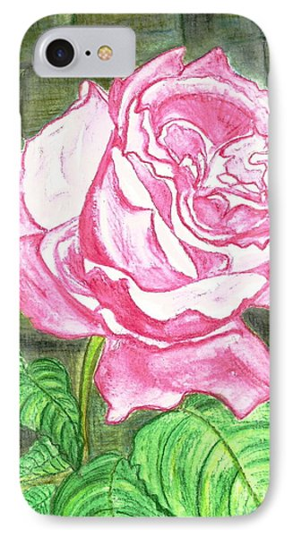 Pink IPhone Case by Heather  Hiland
