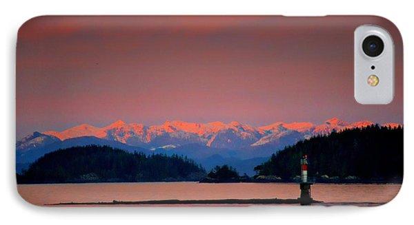 Pink Horizon IPhone Case by Gail Bridger