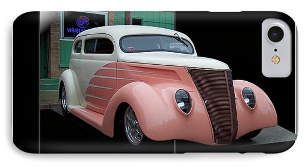 Pink Hot Rod 01 Phone Case by Thomas Woolworth