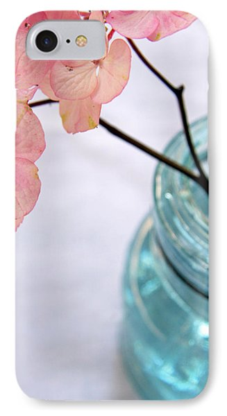 IPhone Case featuring the photograph Pink Hydrangea No. 1 by Brooke T Ryan