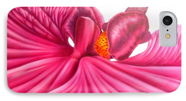 IPhone Case featuring the painting Pink Lady by Darren Robinson