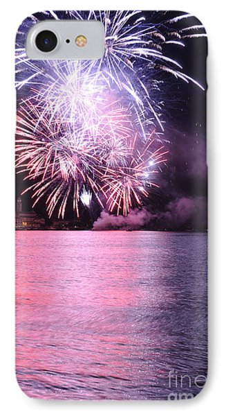 Pink Lake IPhone Case by Simona Ghidini