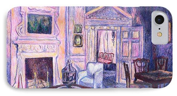 Pink Light At Mount Vernon Phone Case by Kendall Kessler