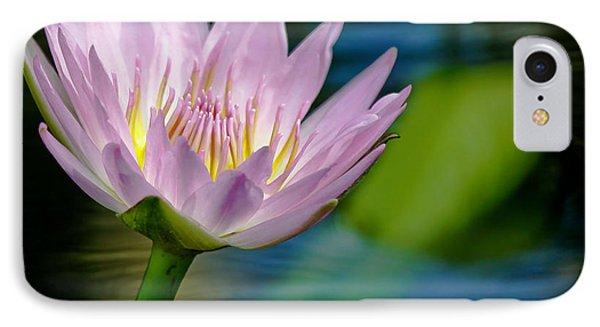 Purple Petals Lotus Flower Impressionism IPhone Case