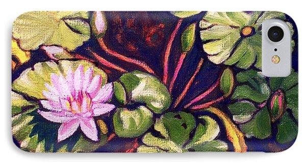 Pink Lotus Flower IPhone Case