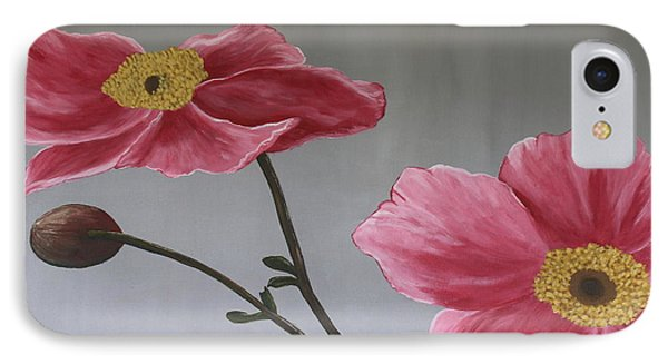 Pink Mexican Aster  - Sold IPhone Case by Christiane Schulze Art And Photography