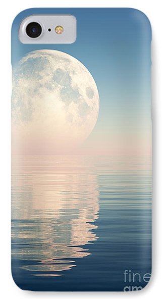 Pink Moon IPhone Case by Aleksey Tugolukov