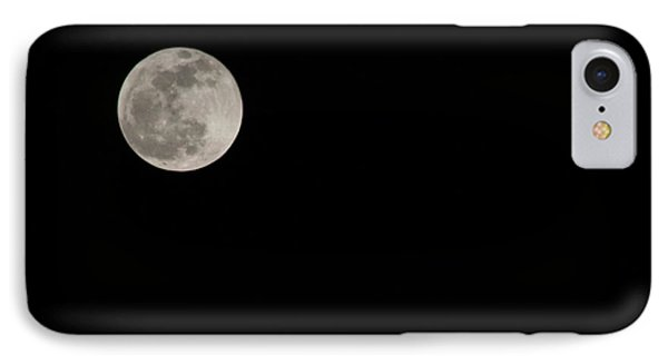 Pink Moon IPhone Case by Nance Larson