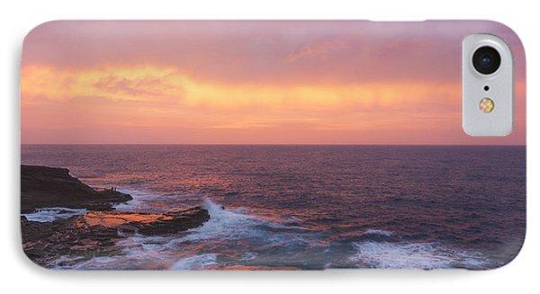 Pink Oahu Sunrise - Hawaii Phone Case by Brian Harig