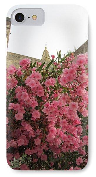 Pink Oleander Phone Case by Pema Hou