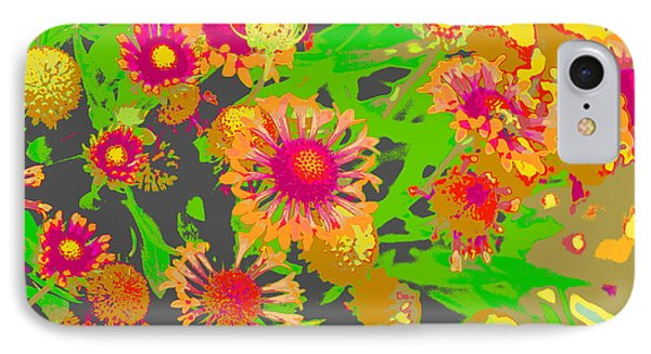 IPhone Case featuring the photograph Pink Orange Flowers by Suzanne Powers