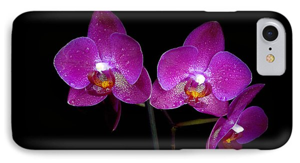 Pink Orchid  IPhone Case