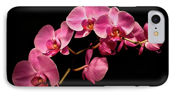 Pink Orchids 3 IPhone Case by  Onyonet  Photo Studios