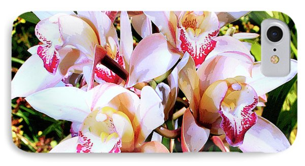 Pink Spirit Orchids Palm Springs IPhone Case