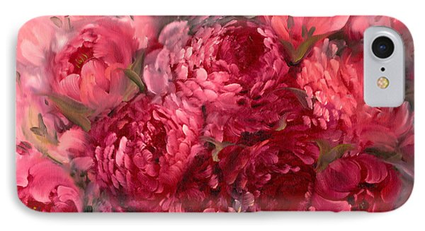 Pink Peonies IPhone Case