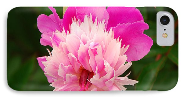 Pink Peony IPhone Case by Mary Carol Story