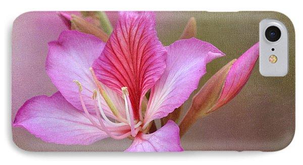 Pink Persuasion Phone Case by Fraida Gutovich