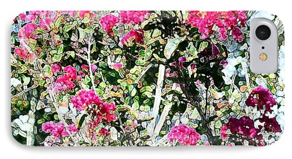 Pink Profusion IPhone Case by Ellen O'Reilly