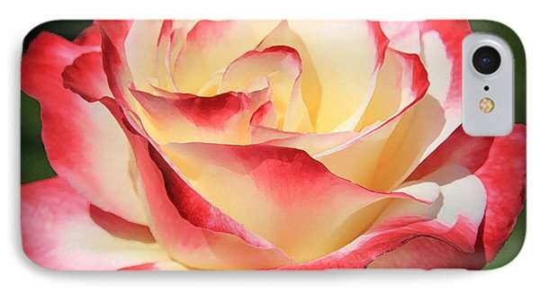 IPhone Case featuring the photograph Pink Rose by Athala Carole Bruckner