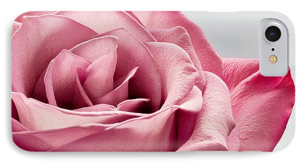 Pink Rose Macro IPhone Case