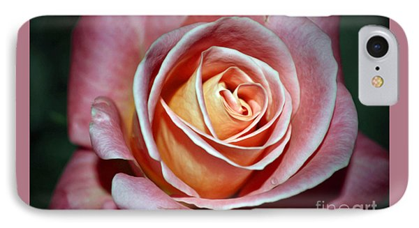 IPhone Case featuring the photograph Pink Rose by Savannah Gibbs