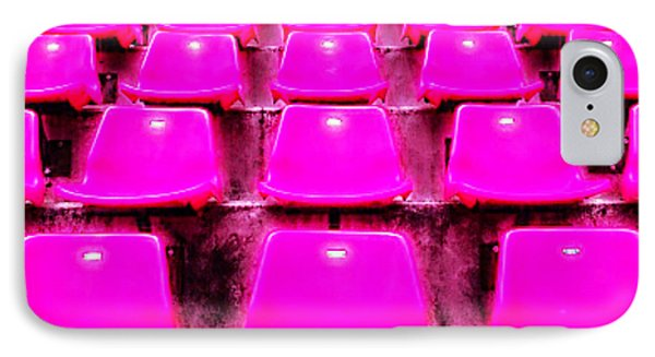 Pink Seats Phone Case by Michael Knight