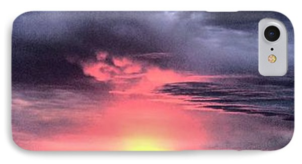 Pink Skies In Stanhope Phone Case by Garren Zanker